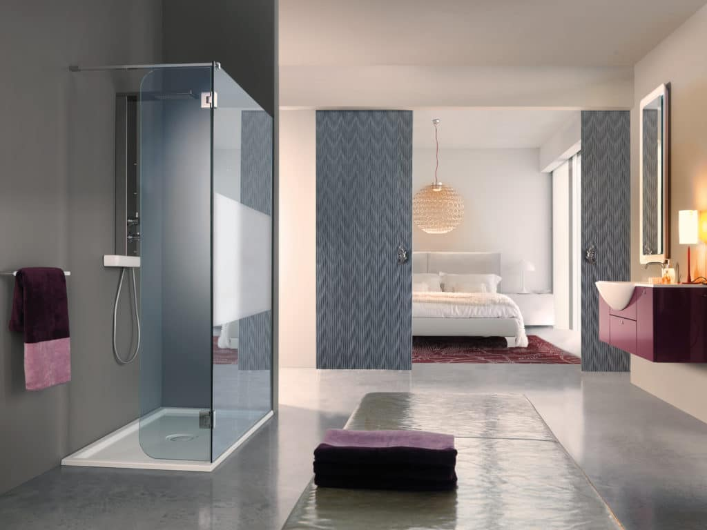 Installer une douche l italienne pour profiter d un - Volume d eau pour une douche ...