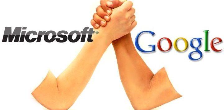 microsoft--vs-google